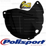 Polisport Black Clutch Cover Protector For Suzuki RMZ 450 2011-2017 Motocross Enduro