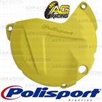 Polisport Yellow RM 01 Clutch Cover Protector For Suzuki RMZ 450 2011-2017 Motocross Enduro