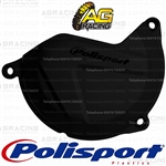 Polisport Black Clutch Cover Protector For KTM EXC-F 500 2012-2016 Motocross Enduro
