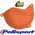 Polisport Orange Clutch Cover Protector For KTM XC-F 450 2013-2015 Motocross Enduro
