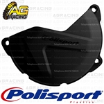 Polisport Black Clutch Cover Protector For Yamaha YZ 450F 2011-2018 Motocross Enduro