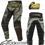 Alpinestars 2019 Racer Tactical Black Green Camo Pants Trousers