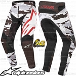 Alpinestars 2019 Racer Tactical Black Grey Camo Burgundy Pants Trousers Motocross Enduro