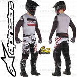 Alpinestars 2019 Racer Tactical Black Grey Camo Burgundy Race Jersey Pants Combo Kit
