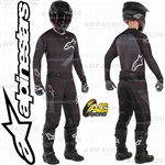 Alpinestars 2019 Racer Graphite Anthracite Black Race Jersey Pants Combo Kit