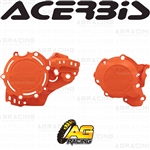 Acerbis X-Power Orange 016 Clutch & Ignition Cover Protector Kit For KTM SX 250 2019-2020