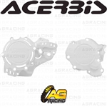 Acerbis X-Power White Clutch & Ignition Cover Protector Kit For KTM SX 250 2019 2020