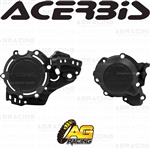 Acerbis X-Power Black Clutch & Ignition Cover Protector Kit For KTM SX 250 2019 2020