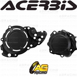 Acerbis X-Power Black Clutch & Ignition Cover Protector Kit For Beta RR 2T XTrainer 300 2018-2019
