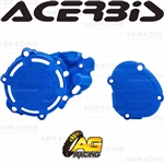 Acerbis X-Power Blue Clutch & Ignition Cover Protector Kit For Yamaha YZ 125 2005-2019