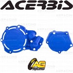 Acerbis X-Power Blue Clutch & Ignition Cover Protector Kit For Yamaha YZ 250 2005-2019