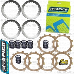 Apico Clutch Kit Friction & Steel Plates For KTM SX 60 1998-2000 Motocross Enduro