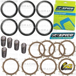 Apico Clutch Kit Steel Friction Plates & Springs For KTM SX 105 2004-2011 Motocross Enduro
