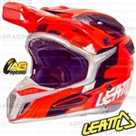 Leatt Adult Helmet GPX 5.5 Orange Black Red Motocross Enduro