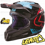 Leatt Adult Helmet GPX 5.5 Black Blue Motocross Enduro