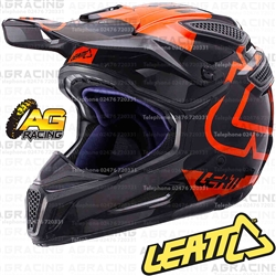 Leatt Adult Helmet GPX 5.5 Black Orange Motocross Enduro