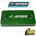 Apico Green Front Brake Master Cylinder Cover For Yamaha YZ 80 1994-2001