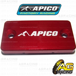 Apico Red Front Brake Master Cylinder Cover For Yamaha YZ 80 1994-2001