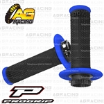 ProGrip 708 Twist Grips with 5 Cams Black Blue Motocross Enduro Quad ATV