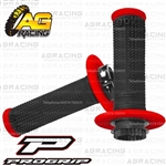 ProGrip 708 Twist Grips with 5 Cams Black Red Motocross Enduro Quad ATV
