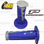 Pro Grip Progrip 793 Twist Grips Blue Motocross Enduro Quad ATV