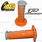 Pro Grip Progrip 793 Twist Grips Orange Motocross Enduro Quad ATV