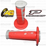 Pro Grip Progrip 793 Twist Grips Red Motocross Enduro Quad ATV