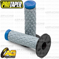 Pro Taper Pillow Top Tri Density Twist Grips Blue For Yamaha YZ 80 1974-2001