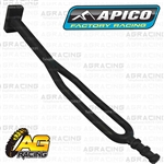 Apico Black Rubber Side Stand Kickstand Headlight Battery Strap Husaberg FE TE 2009-2014