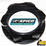 Apico Black Headstock Steering Stem Nut For Husqvarna TE 250 2009-2013 Motocross Enduro
