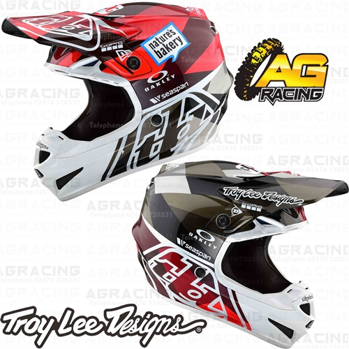 Troy Lee Designs 2019 SE4 Polyacrylite Helmet Jet Orange Grey ... 4ccedce7b78a
