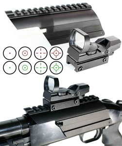 TRINITY Tactical Shotgun Scope Mount and Reflex Sight Kit For Mossberg 500 Maverick 88.