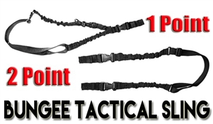 TRINITY Rifle 2 Point/1 Point Tactical Bungee Sling.