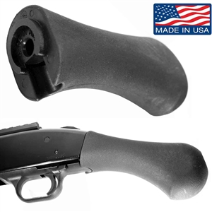 Mossberg 500 590 535 835 Maverick 88 12 & 20 Gauge Shorty Grip Black.