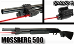 TRINITY Aluminum Weaver Mounted Red Laser For Shotguns.