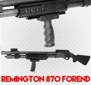 Remington 870 Aluminum handguard and Grip Kit.