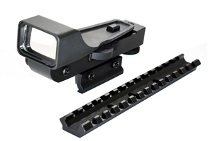 H&R1871 NEF Pardner Pump Shotgun Mount With Red Dot Sight Kit.
