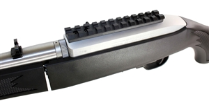Ruger 10/22 Picatinny Rail Mount for Scopes and Optics.