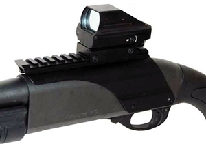 4 Reticle Adjustable Tactical Red And Green Dot Sight With Rail Mount For Remington 870 Shotgun.