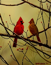 Cardinals By Mark Kness