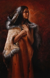 Proud Cherokee Princess by Lee Bogle