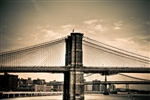Brooklyn Bridge New York Bridges Black and White