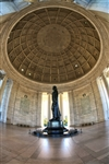 Jefferson Memorial - inside by Mitch Catanzaro