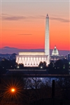 Washington at Dawn by Mitch Catanzaro
