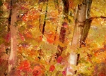 Klimt's Forest by Hal Halli
