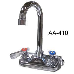 "AA-401G 4"" Wall Mount Faucet Base"