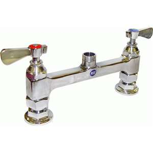 "AA-891G 8"" Heavy Duty Commercial Deck Mount Faucet Base Only"