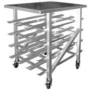 GSW AAR-CRAW41 All Welded Half Size Can Rack