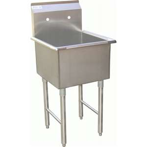 SH24241P 1 Compartment Prep Sink