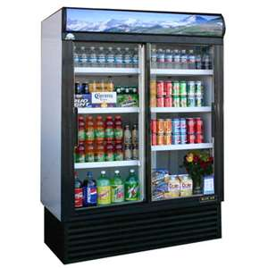 BLUE AIR BAGR45 Glass Door Refrigerator